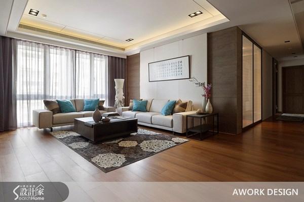 55坪新成屋(5年以下)_新中式風案例圖片_AWORK DESIGN而沃設計_而沃_03之3