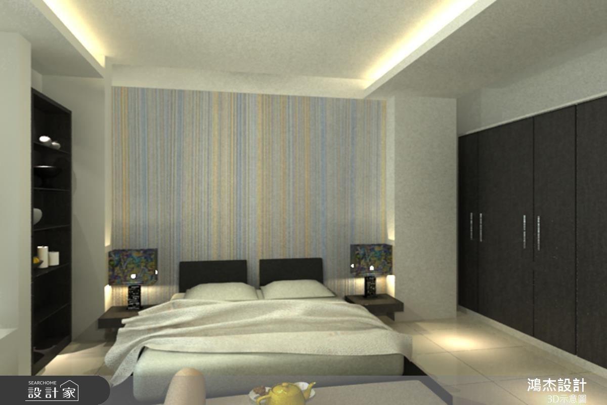 68坪新成屋(5年以下)_奢華風臥室案例圖片_鴻杰室內設計_鴻杰_10之4