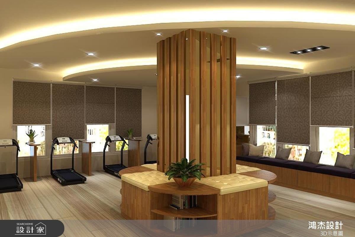68坪新成屋(5年以下)_休閒風案例圖片_鴻杰室內設計_鴻杰_12之3