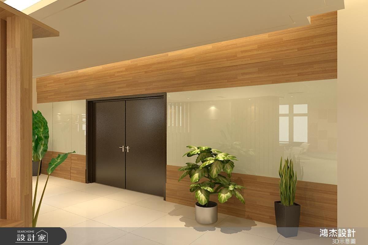 68坪新成屋(5年以下)_休閒風案例圖片_鴻杰室內設計_鴻杰_12之5