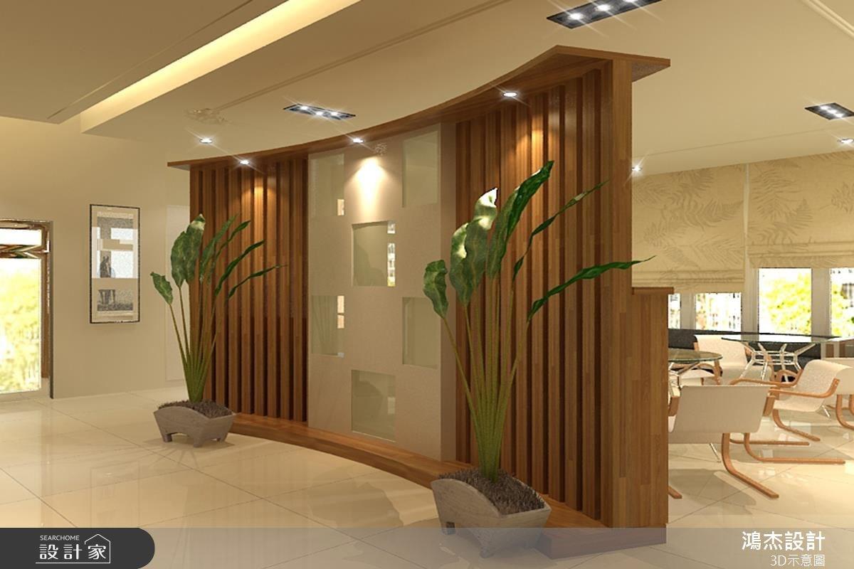 68坪新成屋(5年以下)_休閒風案例圖片_鴻杰室內設計_鴻杰_12之6