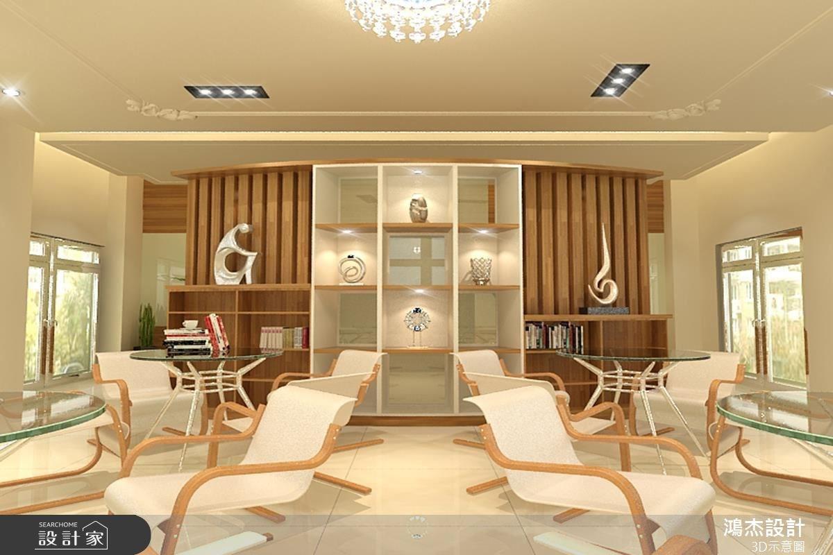 68坪新成屋(5年以下)_休閒風案例圖片_鴻杰室內設計_鴻杰_12之7