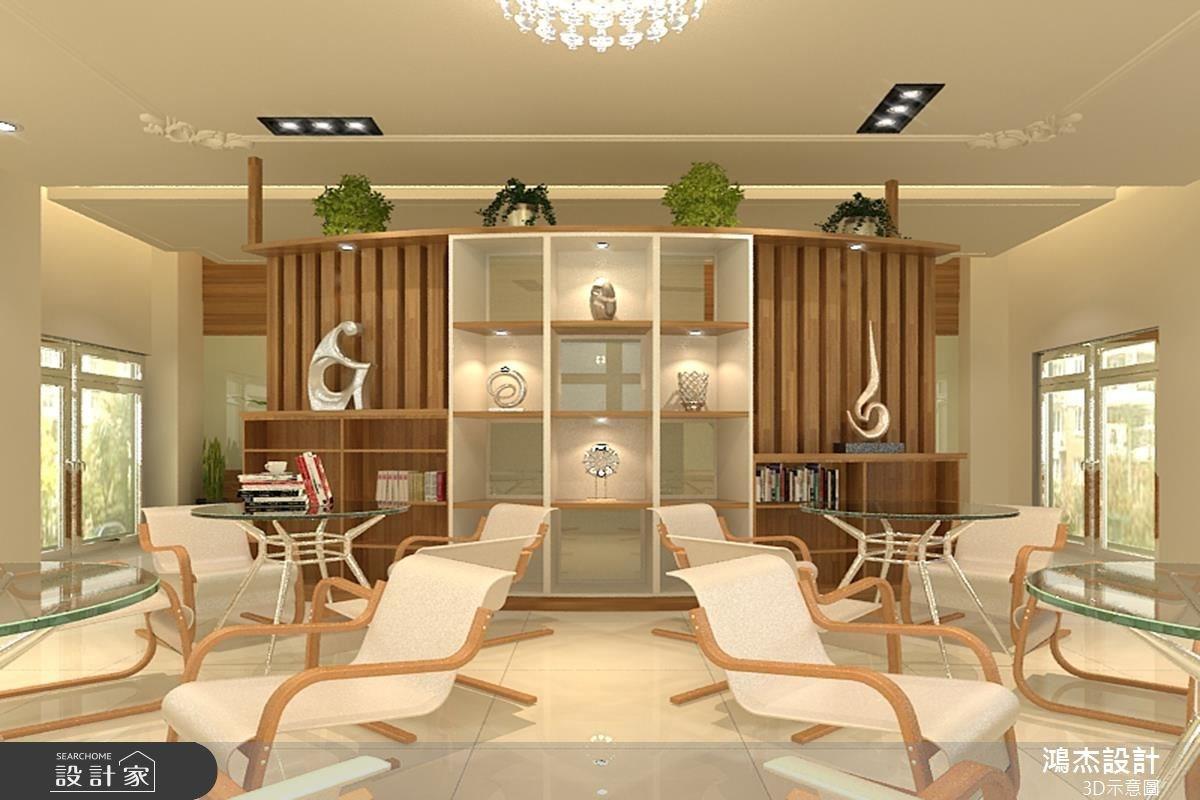 68坪新成屋(5年以下)_休閒風案例圖片_鴻杰室內設計_鴻杰_12之8