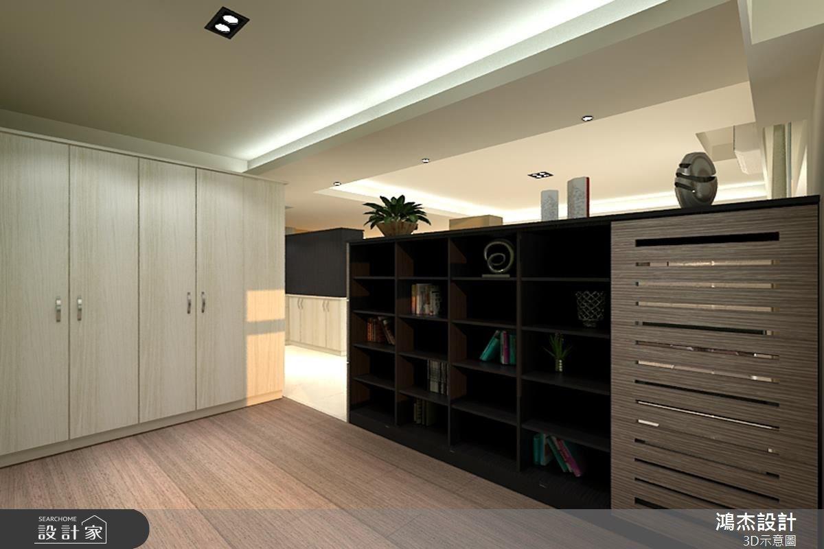 42坪新成屋(5年以下)_混搭風和室案例圖片_鴻杰室內設計_鴻杰_14之4