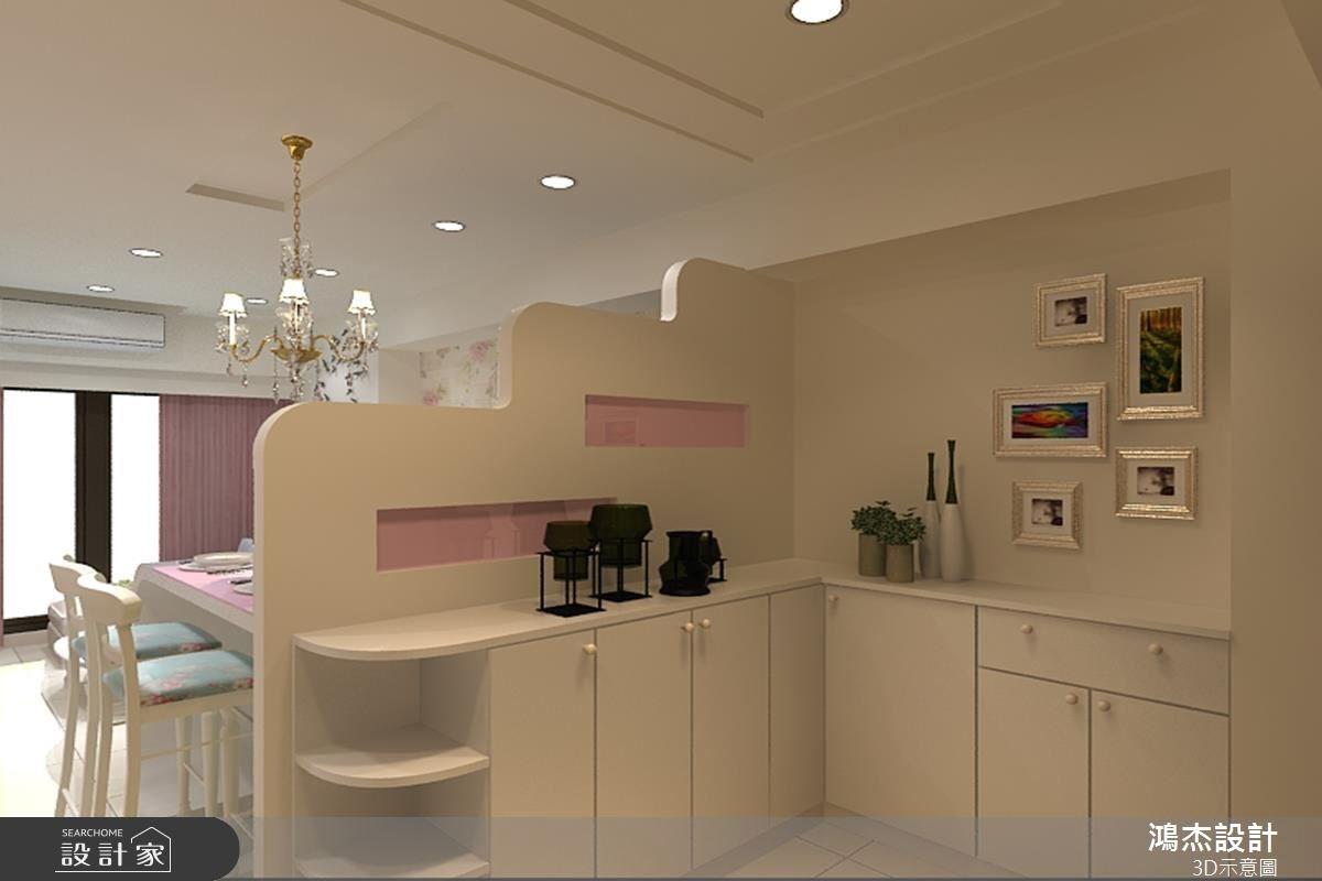 22坪新成屋(5年以下)_現代風玄關客廳案例圖片_鴻杰室內設計_鴻杰_20之1