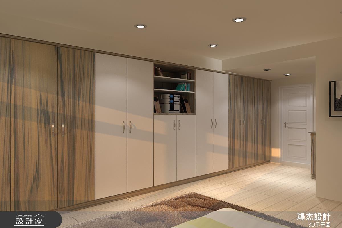 22坪新成屋(5年以下)_現代風臥室案例圖片_鴻杰室內設計_鴻杰_21之4