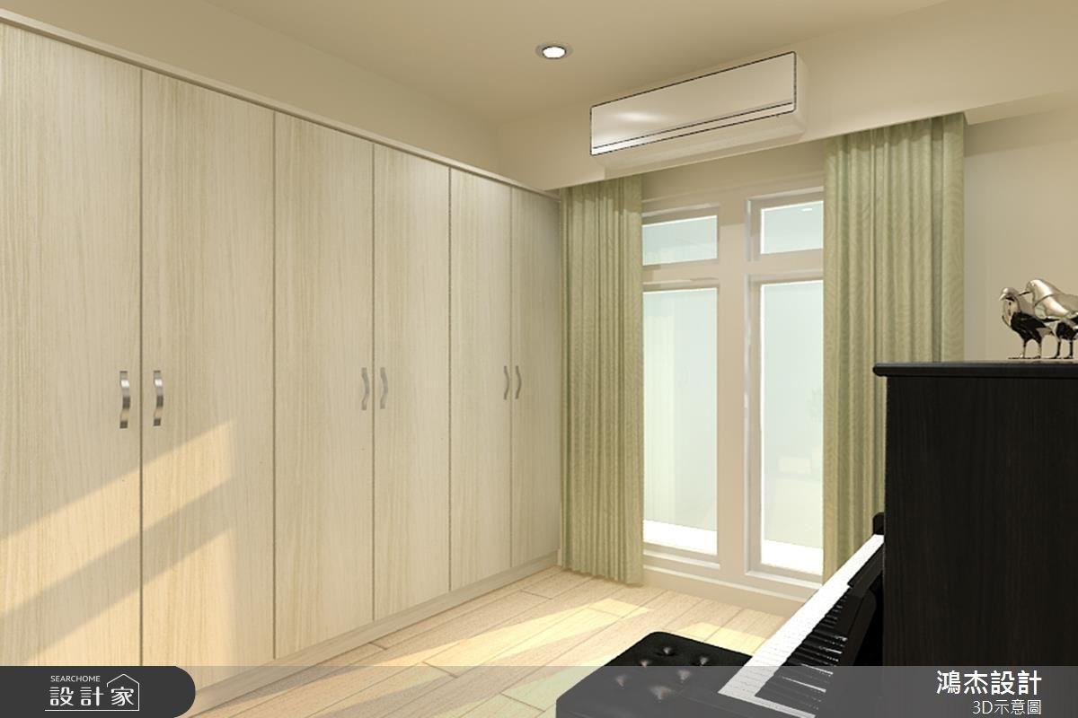 22坪新成屋(5年以下)_現代風臥室案例圖片_鴻杰室內設計_鴻杰_21之5