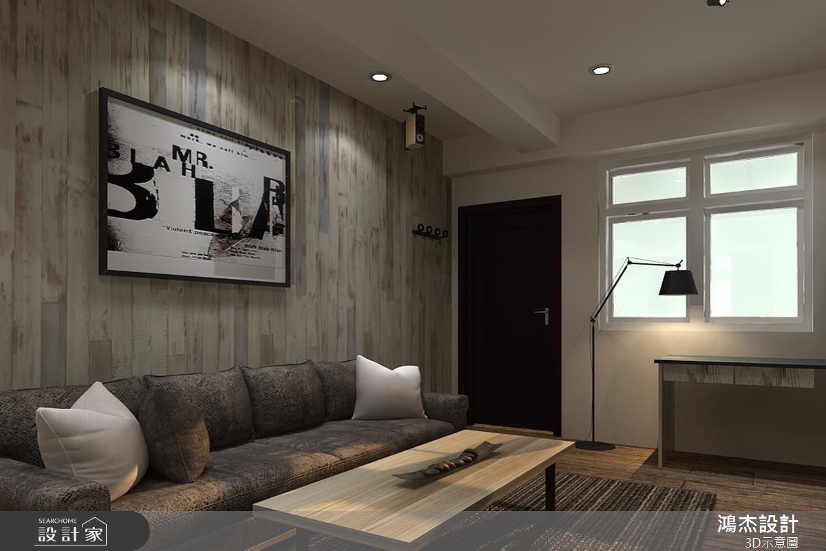 22坪新成屋(5年以下)_現代風客廳案例圖片_鴻杰室內設計_鴻杰_21之7