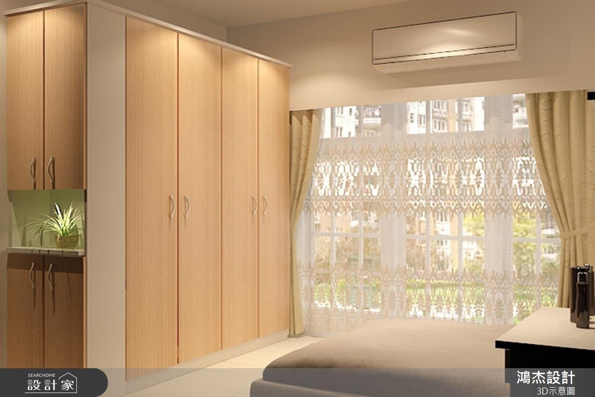 28坪新成屋(5年以下)_現代風臥室案例圖片_鴻杰室內設計_鴻杰_22之4