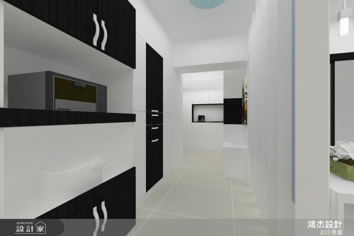 30坪新成屋(5年以下)_現代風玄關餐廳案例圖片_鴻杰室內設計_鴻杰_26之3