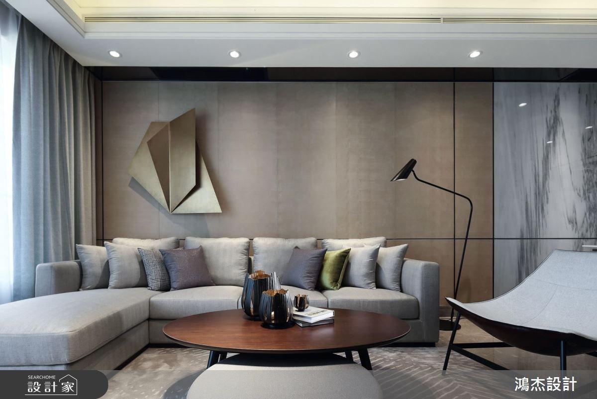 63坪新成屋(5年以下)_現代風客廳案例圖片_鴻杰室內設計_鴻杰_27之4