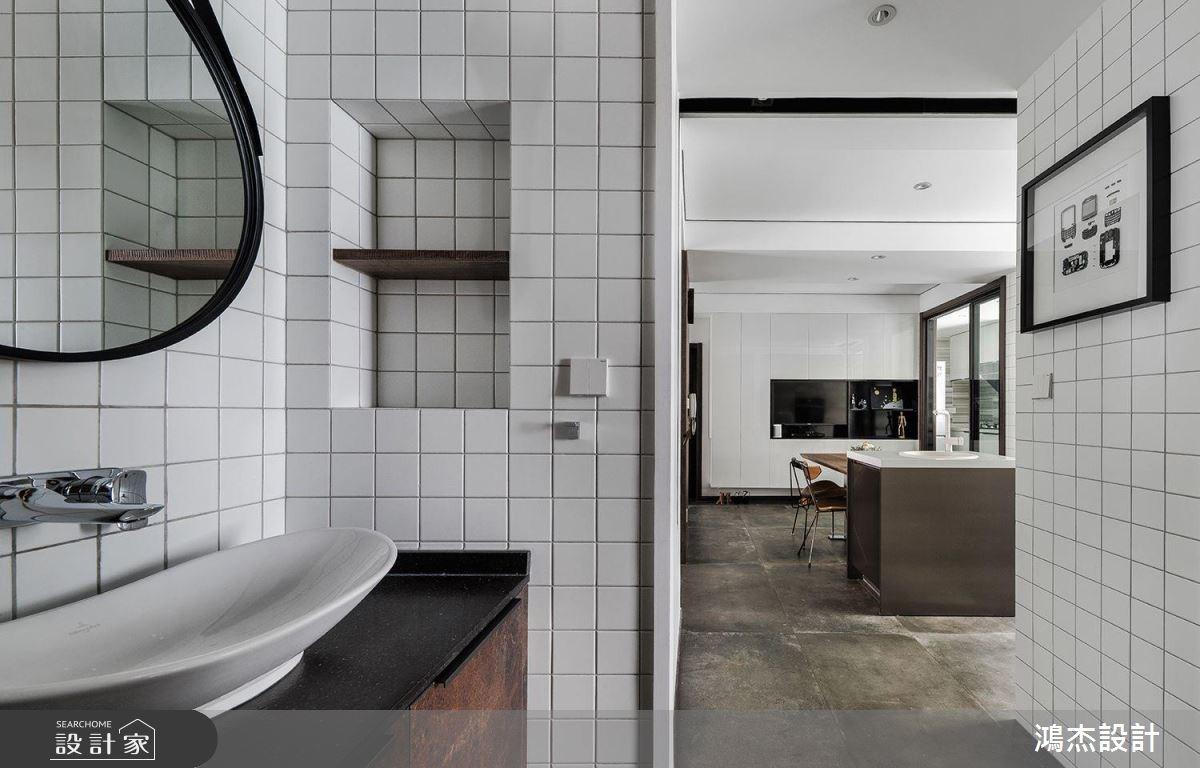 70坪新成屋(5年以下)_工業風浴室案例圖片_鴻杰室內設計_鴻杰_28之9