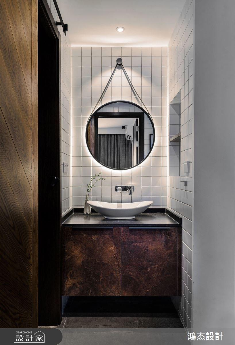 70坪新成屋(5年以下)_工業風浴室案例圖片_鴻杰室內設計_鴻杰_28之10