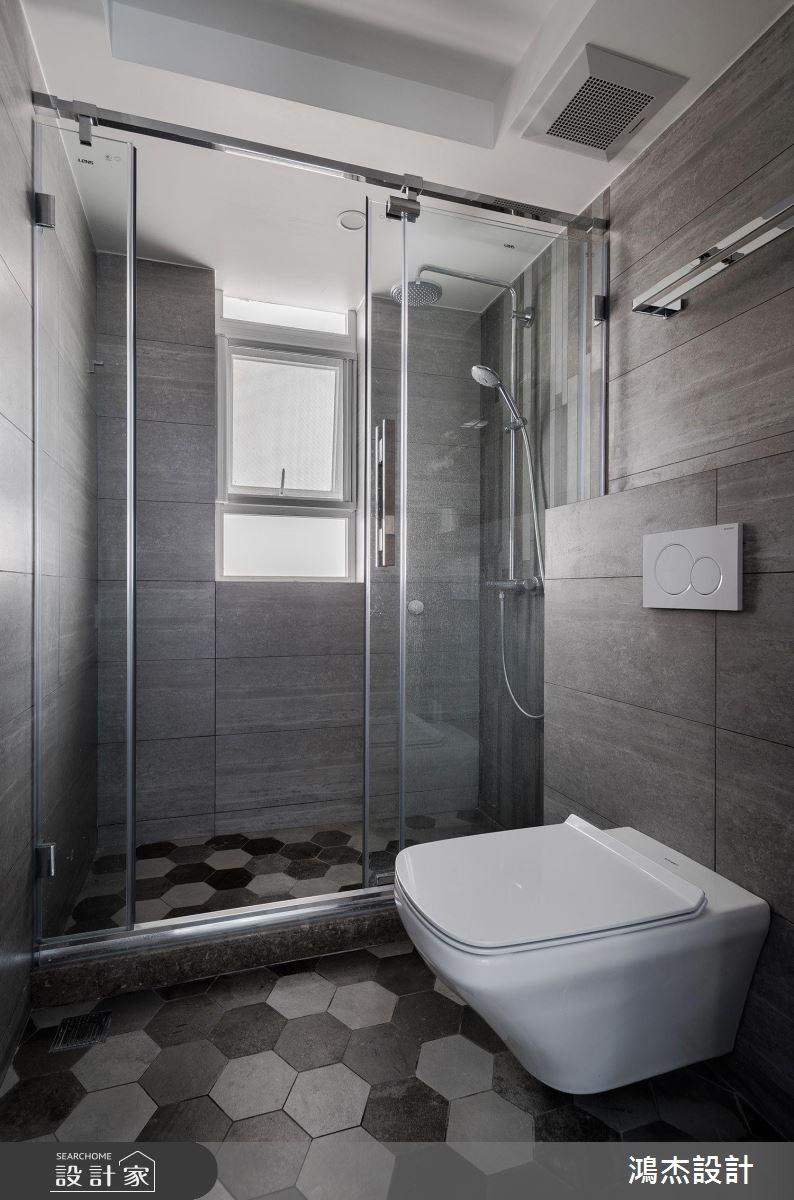 70坪新成屋(5年以下)_工業風浴室案例圖片_鴻杰室內設計_鴻杰_28之11
