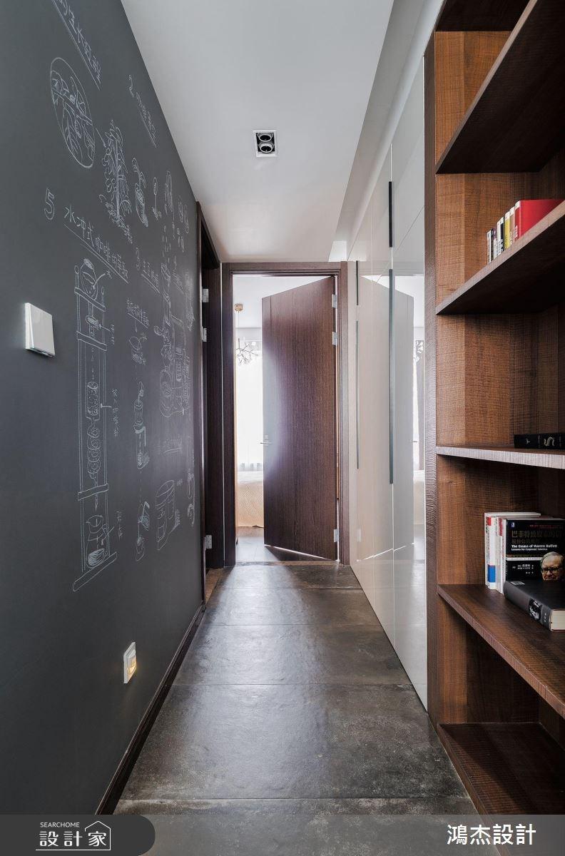 70坪新成屋(5年以下)_工業風走廊案例圖片_鴻杰室內設計_鴻杰_28之12
