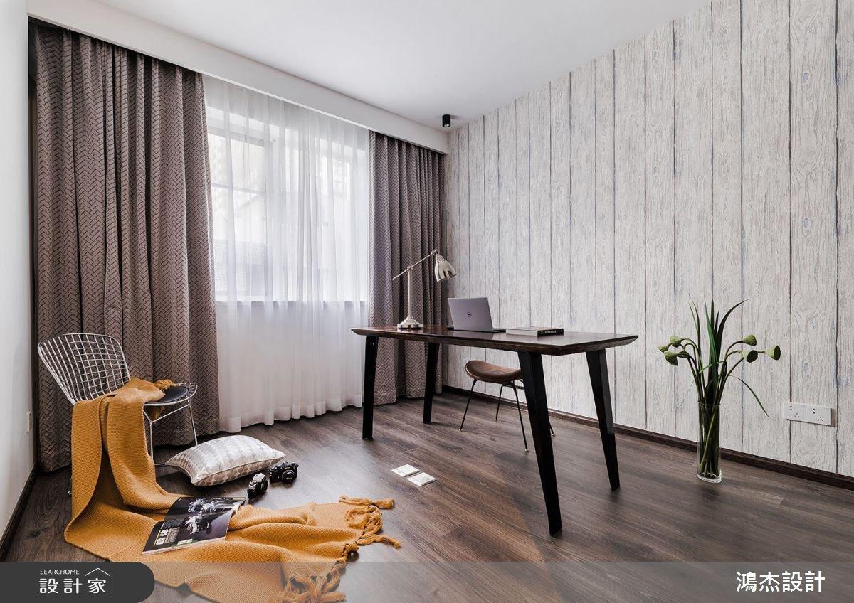 70坪新成屋(5年以下)_工業風書房案例圖片_鴻杰室內設計_鴻杰_28之15