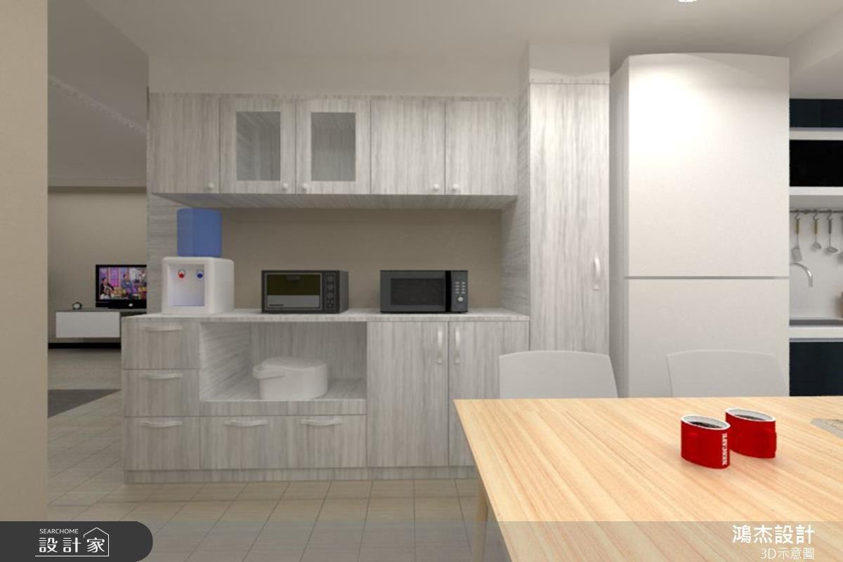 34坪老屋(16~30年)_混搭風餐廳案例圖片_鴻杰室內設計_鴻杰_29之3