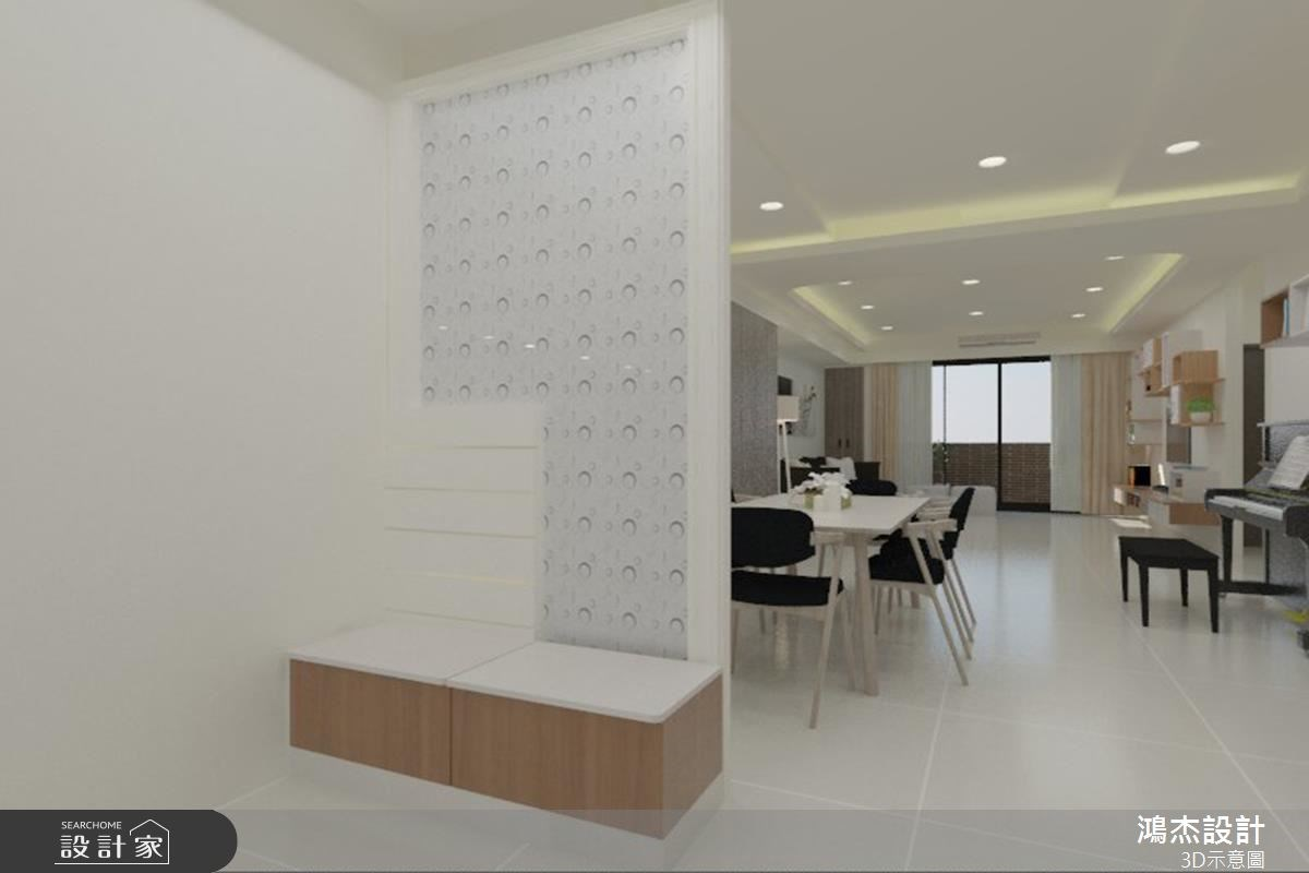37坪新成屋(5年以下)_現代風客廳餐廳案例圖片_鴻杰室內設計_鴻杰_30之2