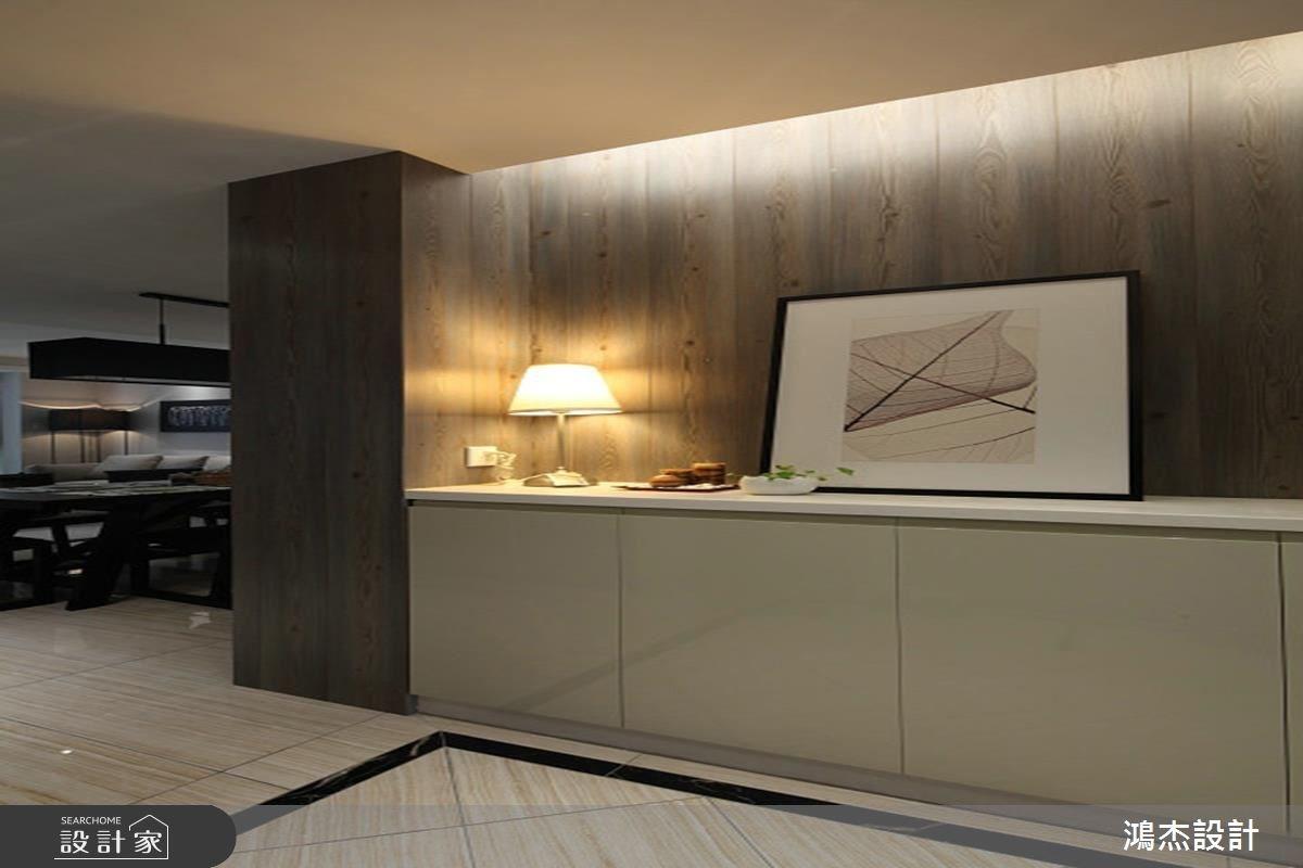 68坪新成屋(5年以下)_混搭風玄關案例圖片_鴻杰室內設計_鴻杰_31之1