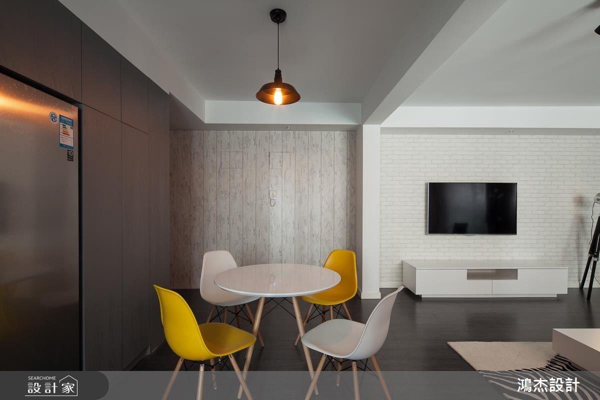 35坪新成屋(5年以下)_混搭風案例圖片_鴻杰室內設計_鴻杰_32之4