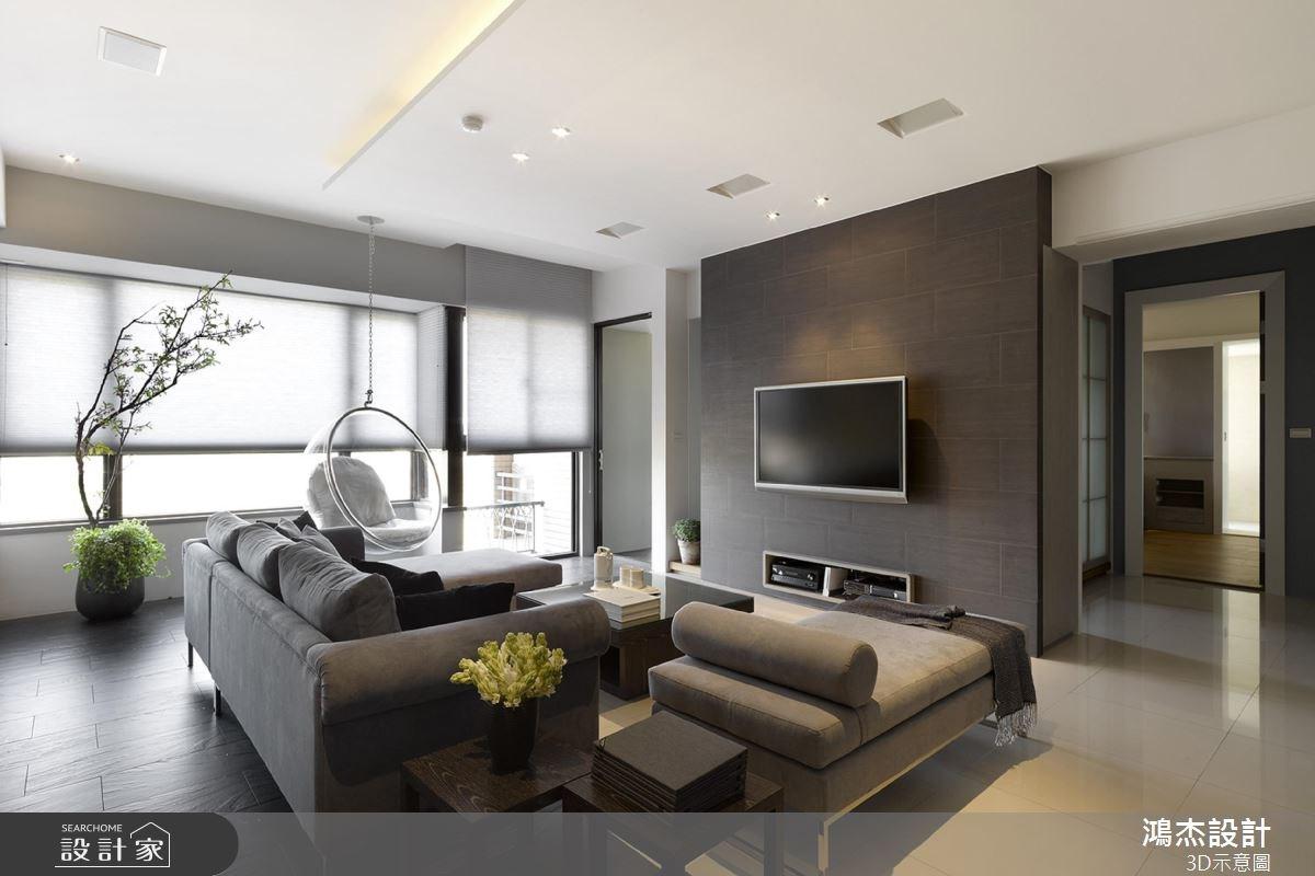 22坪中古屋(5~15年)_混搭風客廳案例圖片_鴻杰室內設計_鴻杰_33之3