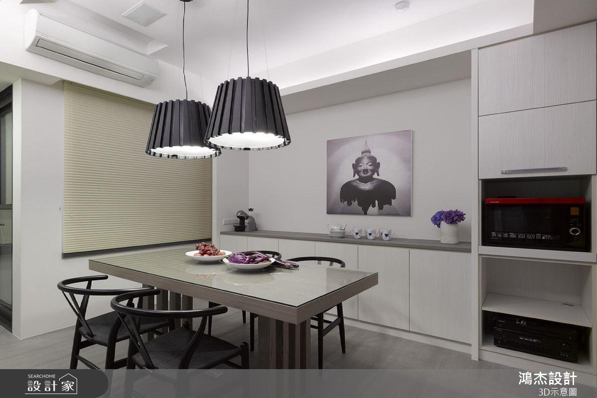 22坪中古屋(5~15年)_混搭風餐廳案例圖片_鴻杰室內設計_鴻杰_33之4
