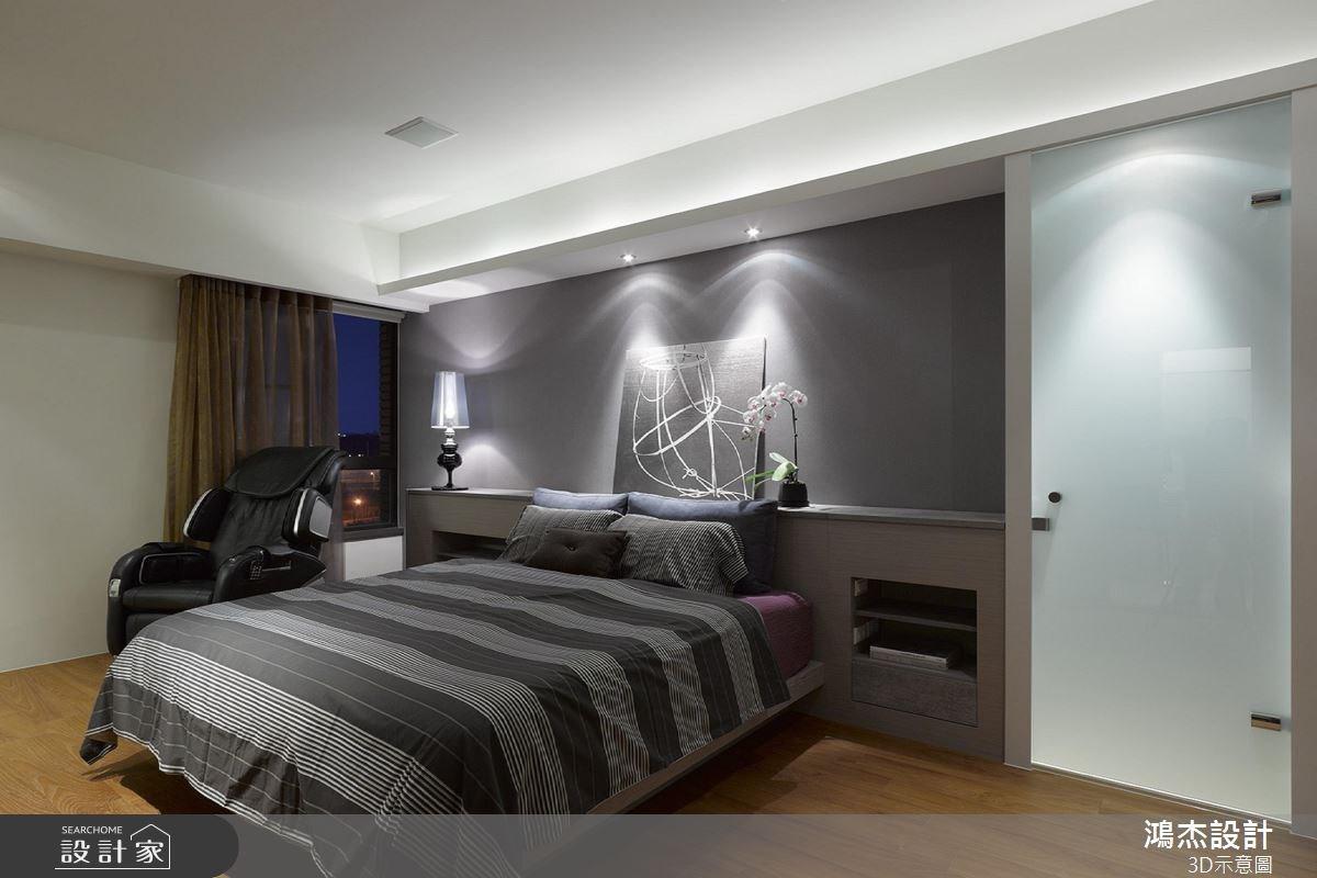 22坪中古屋(5~15年)_混搭風臥室案例圖片_鴻杰室內設計_鴻杰_33之6