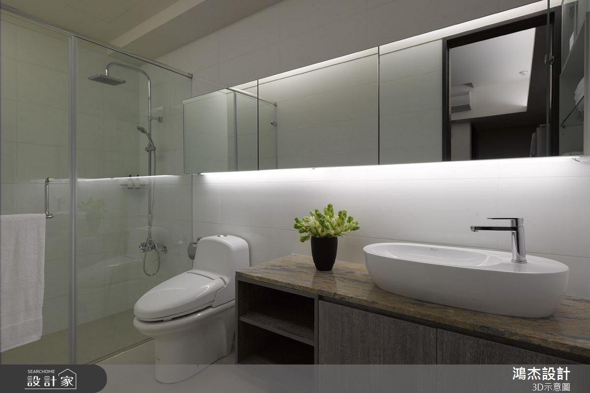 22坪中古屋(5~15年)_混搭風浴室案例圖片_鴻杰室內設計_鴻杰_33之10