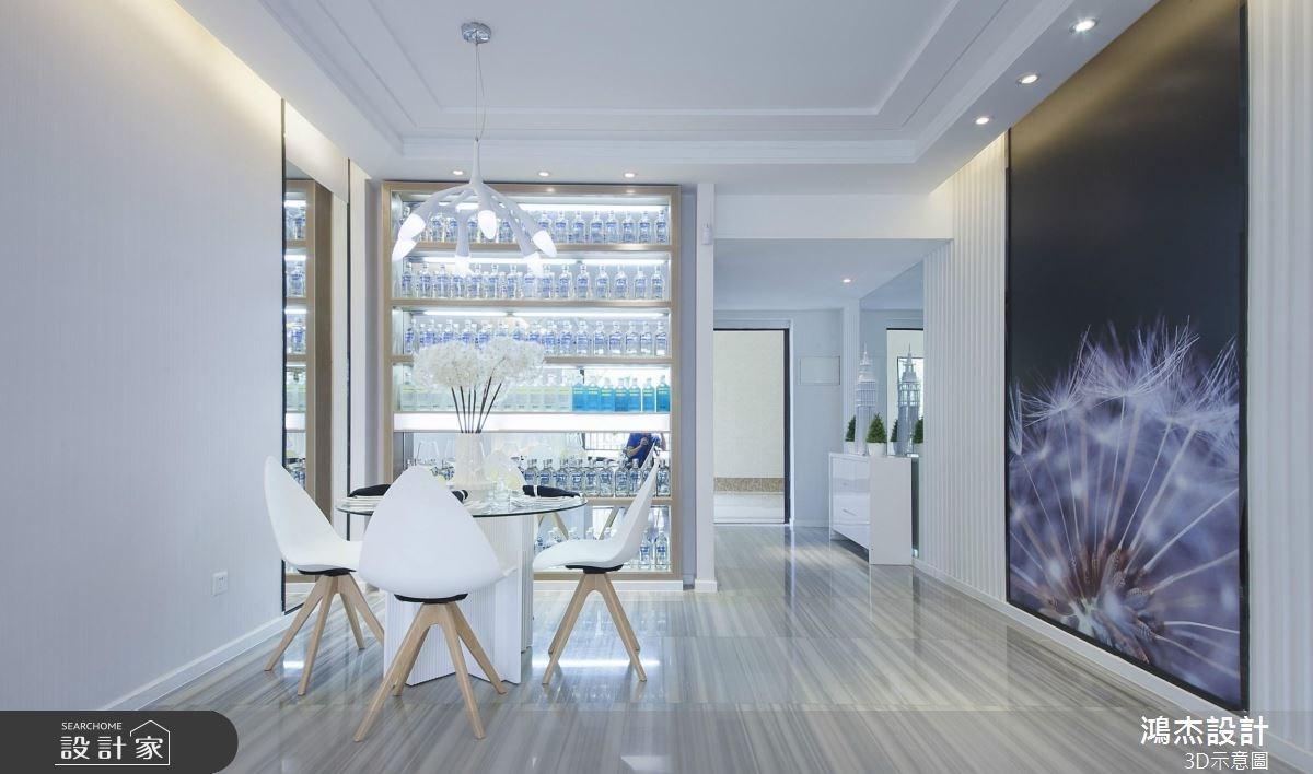 72坪新成屋(5年以下)_現代風餐廳案例圖片_鴻杰室內設計_鴻杰_37之4