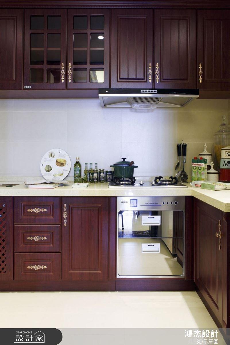 56坪新成屋(5年以下)_美式風廚房案例圖片_鴻杰室內設計_鴻杰_38之5