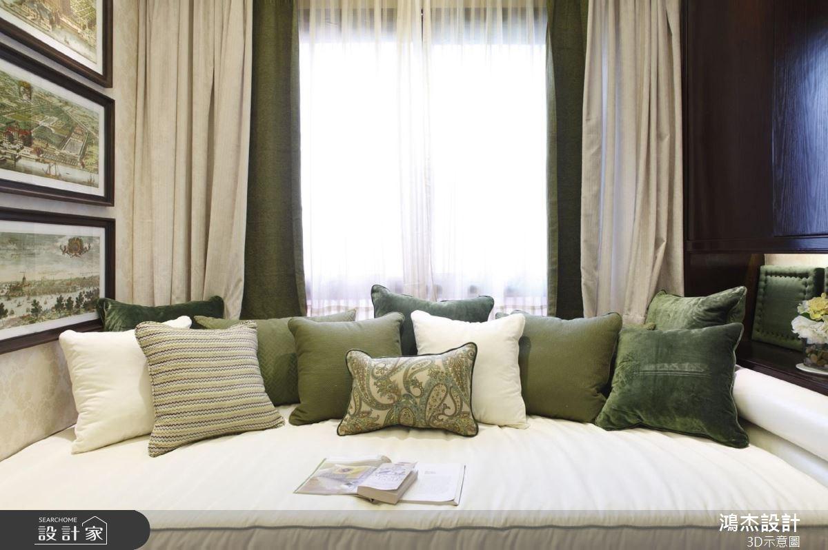 56坪新成屋(5年以下)_美式風客廳案例圖片_鴻杰室內設計_鴻杰_38之6