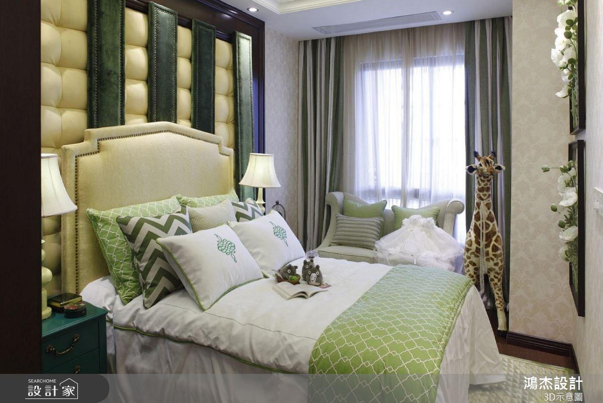 56坪新成屋(5年以下)_美式風臥室案例圖片_鴻杰室內設計_鴻杰_38之10