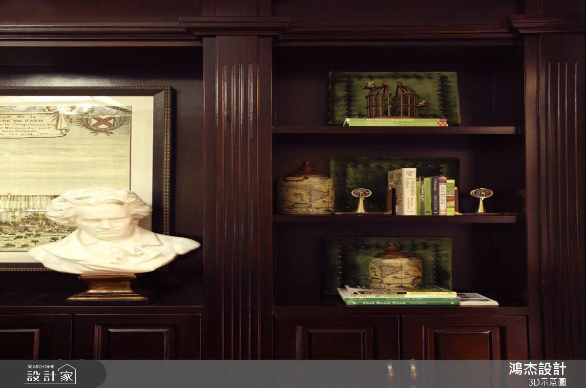 56坪新成屋(5年以下)_美式風書房案例圖片_鴻杰室內設計_鴻杰_38之14