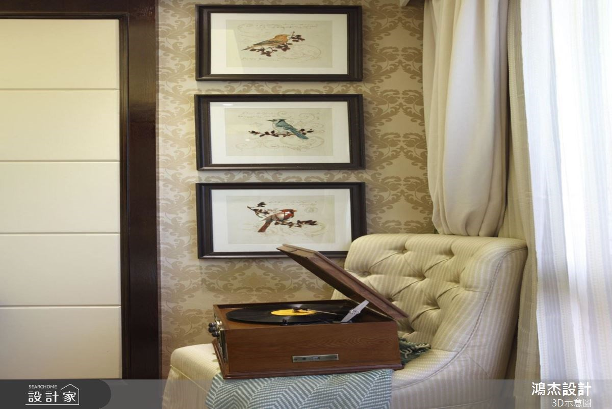 56坪新成屋(5年以下)_美式風臥室案例圖片_鴻杰室內設計_鴻杰_38之15