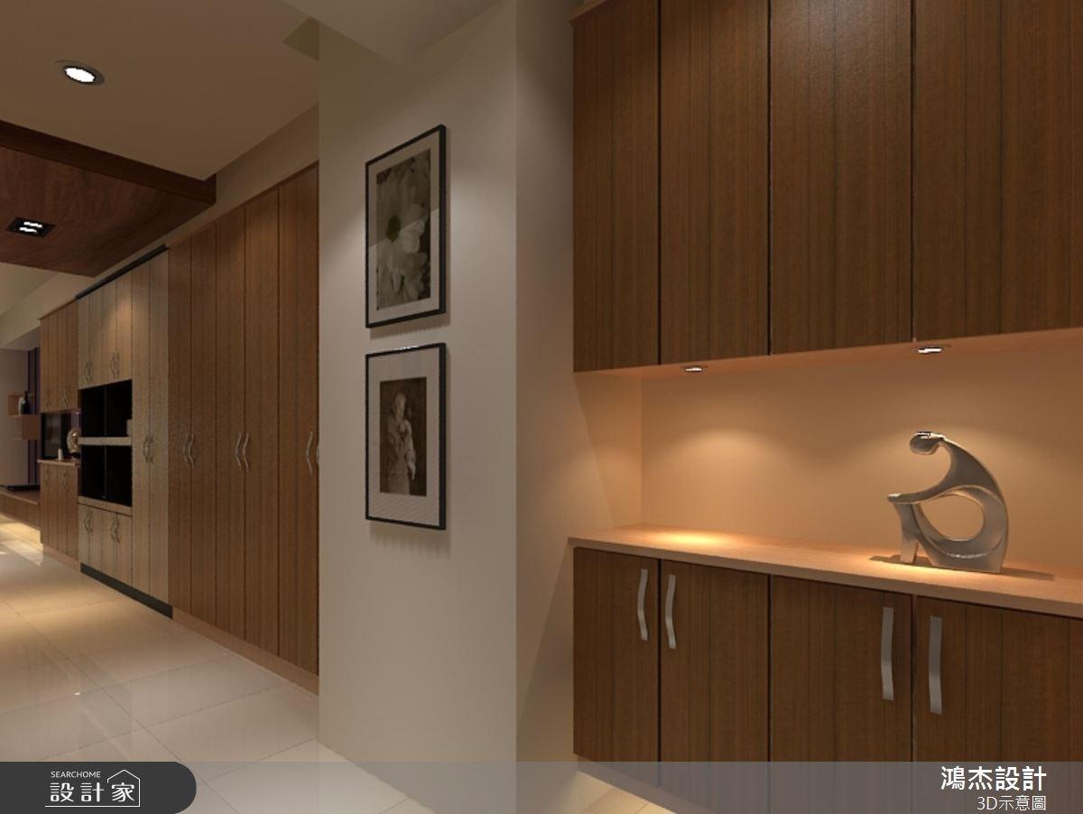 36坪老屋(16~30年)_混搭風走廊案例圖片_鴻杰室內設計_鴻杰_42之4