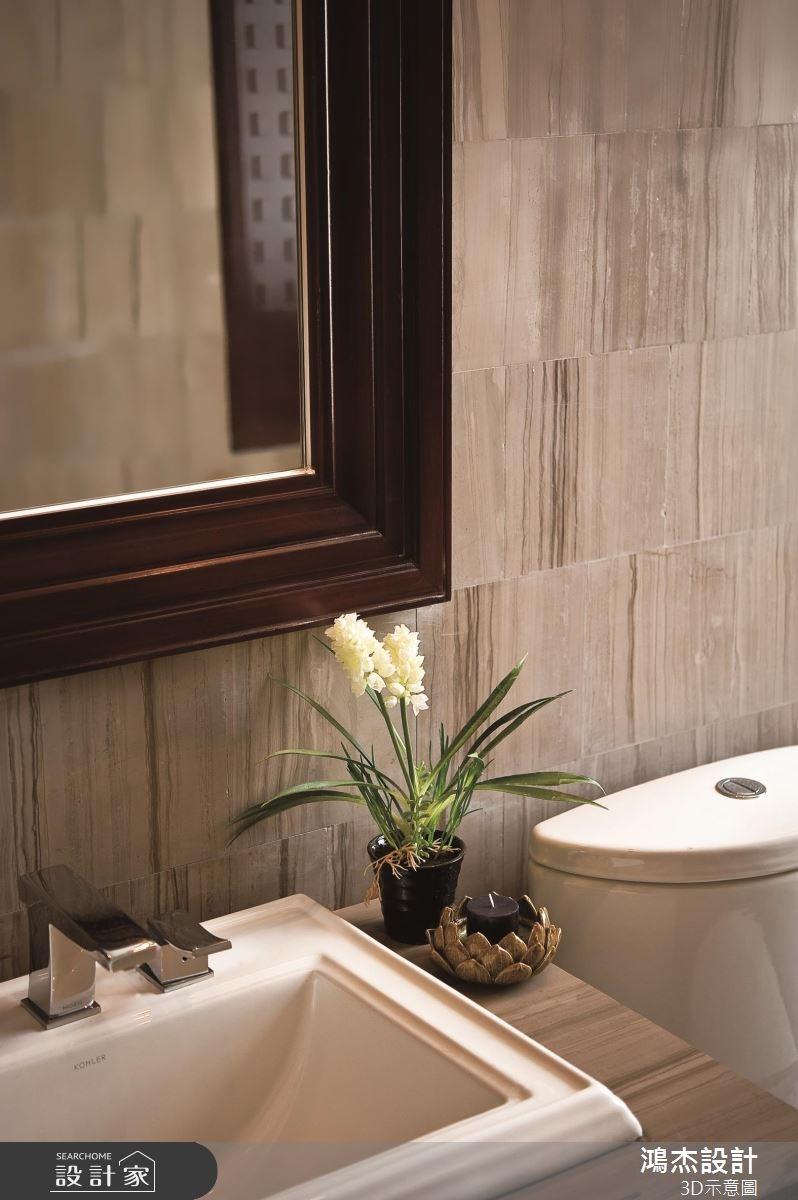57坪老屋(16~30年)_新中式風浴室案例圖片_鴻杰室內設計_鴻杰_46之10