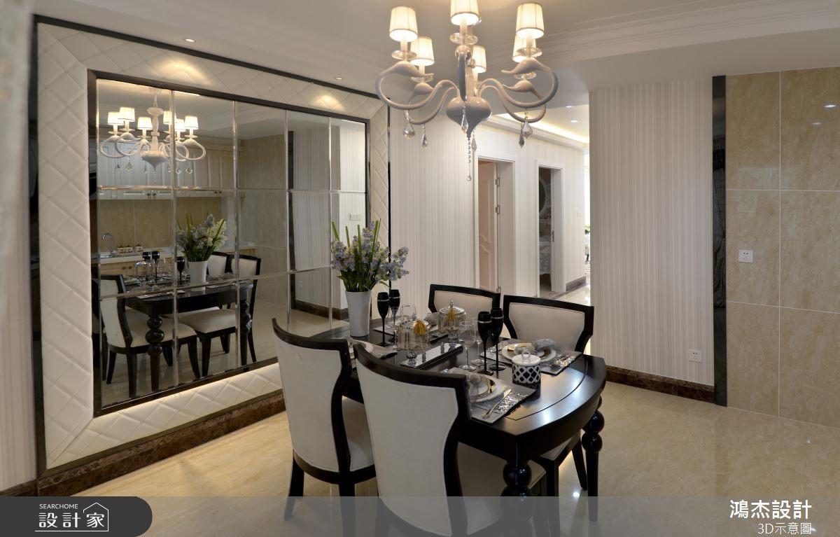 78坪新成屋(5年以下)_混搭風餐廳案例圖片_鴻杰室內設計_鴻杰_50之4
