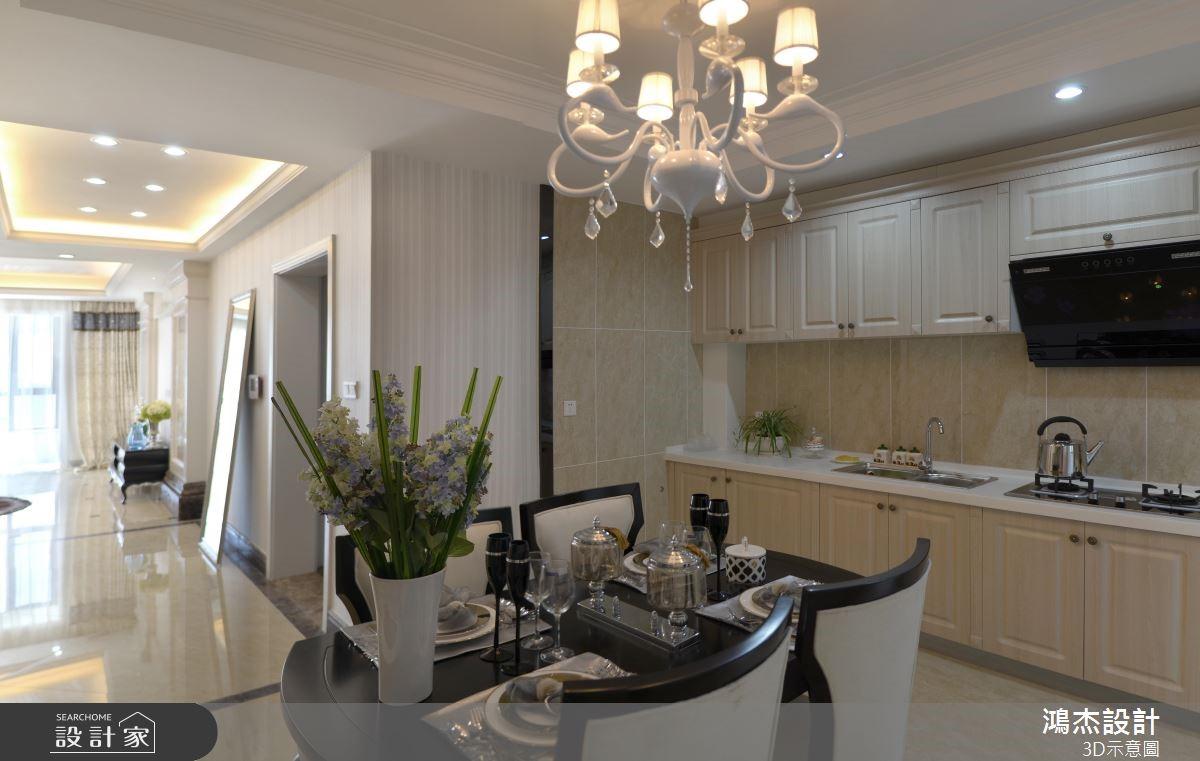 78坪新成屋(5年以下)_混搭風餐廳案例圖片_鴻杰室內設計_鴻杰_50之3