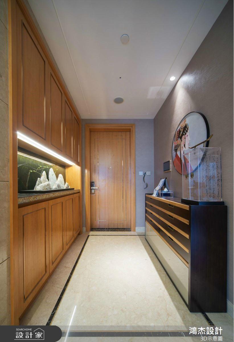 82坪新成屋(5年以下)_混搭風玄關案例圖片_鴻杰室內設計_鴻杰_51之2