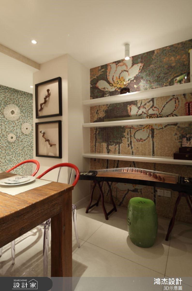 36坪新成屋(5年以下)_混搭風餐廳案例圖片_鴻杰室內設計_鴻杰_52之6