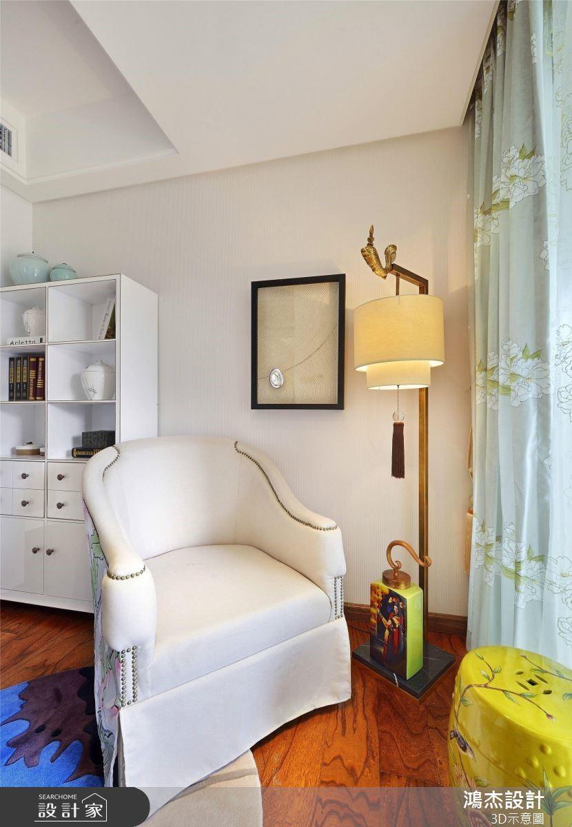 64坪預售屋_新中式風臥室案例圖片_鴻杰室內設計_鴻杰_53之10