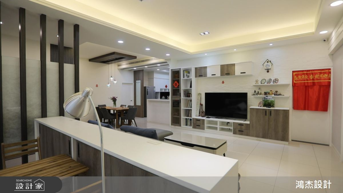 系統家具出招!打造舒適無限的現代風收納大宅