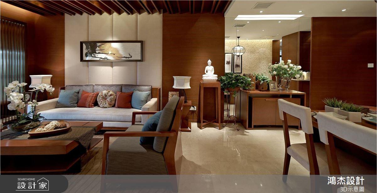 68坪新成屋(5年以下)_奢華風案例圖片_鴻杰室內設計_鴻杰_57之2