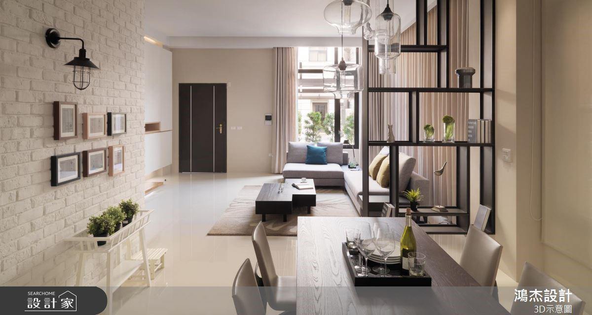 86坪老屋(16~30年)_工業風案例圖片_鴻杰室內設計_鴻杰_60之2