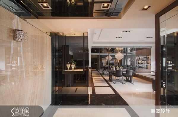 88坪新成屋(5年以下)_奢華風案例圖片_慕澤設計室內裝修股份有限公司_慕澤_13之1