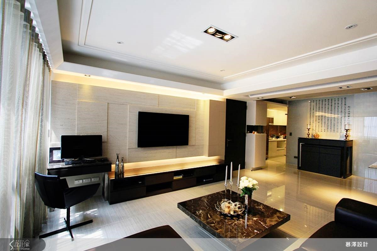 35坪新成屋(5年以下)_簡約風案例圖片_慕澤設計室內裝修股份有限公司_慕澤_15之1