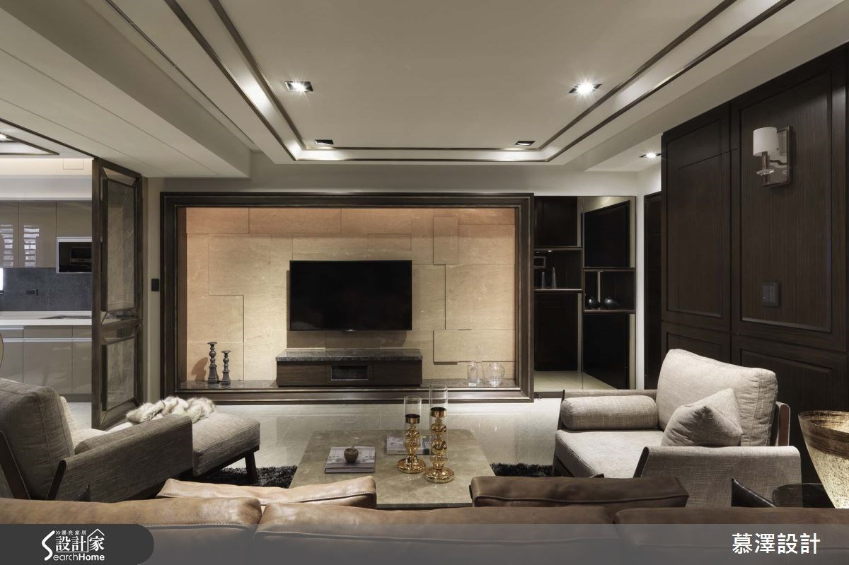 36坪新成屋(5年以下)_現代風案例圖片_慕澤設計室內裝修股份有限公司_慕澤_33之1