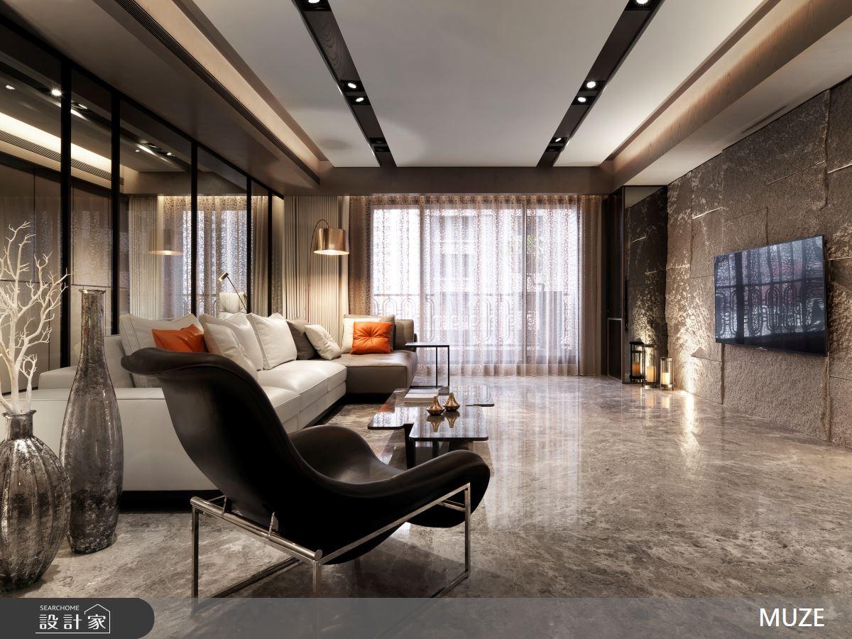60坪新成屋(5年以下)_奢華風客廳案例圖片_慕澤設計室內裝修股份有限公司_慕澤_36之3