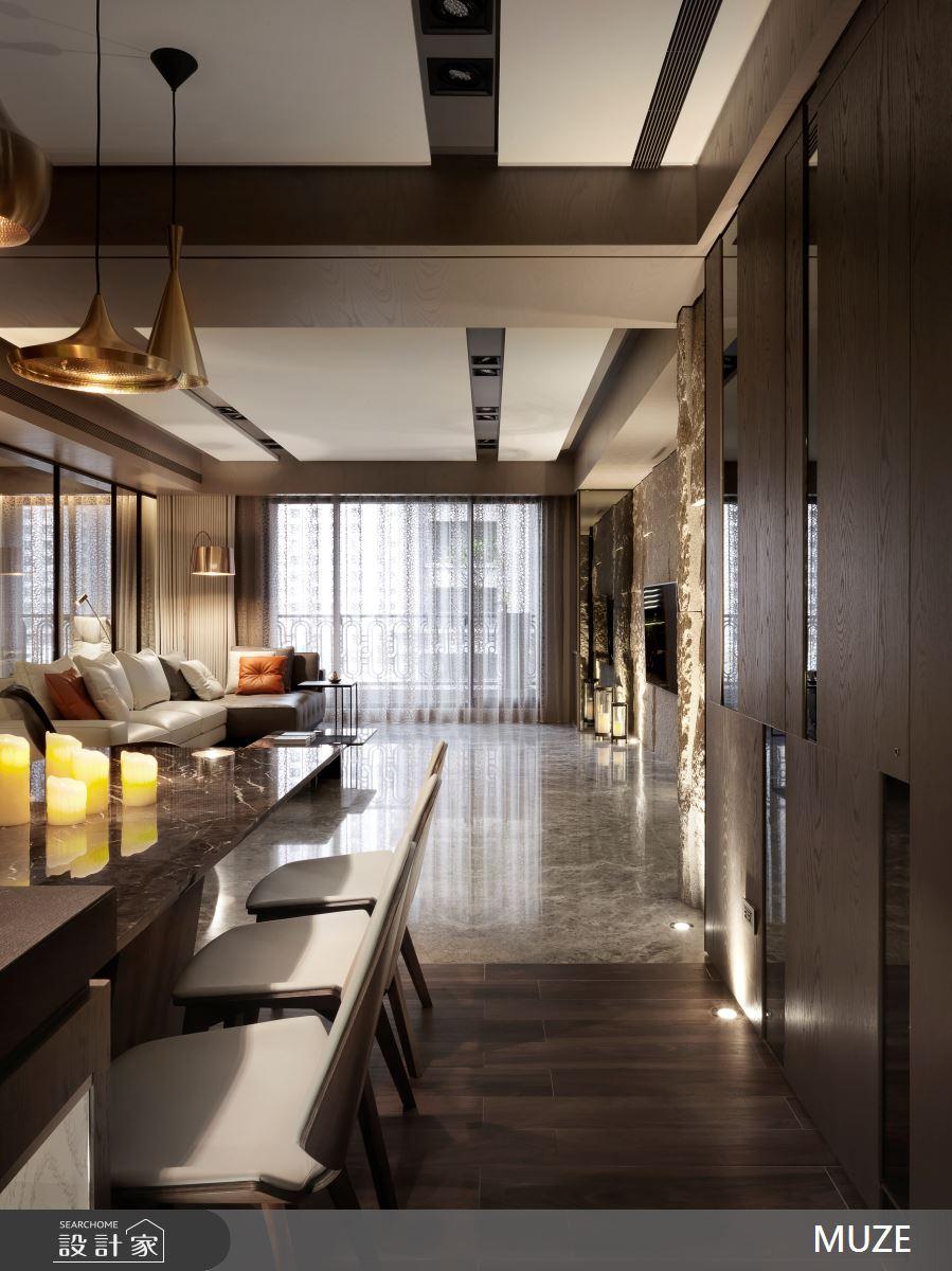 60坪新成屋(5年以下)_奢華風餐廳案例圖片_慕澤設計室內裝修股份有限公司_慕澤_36之7