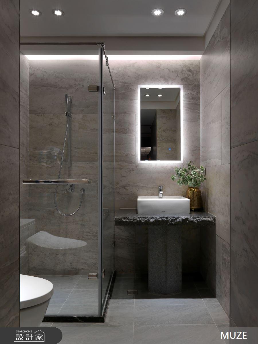60坪新成屋(5年以下)_奢華風浴室案例圖片_慕澤設計室內裝修股份有限公司_慕澤_36之14